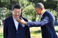 Barack Obama and Xi Jinping met at Sunnylands in California last year. Photo: AFP