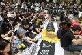 Students plan to boycott classes later this month. Photo: Jonathan Wong