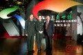 Su Daren (right), seen with PLA singing celebrities Tan Jing (centre) and Wang Yuxiang (left) in 2010. Photo: Weibo