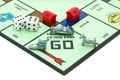 Dice, properties, tokens and playing board familiar to Monopoly players around the world.