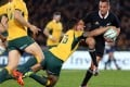 Aaron Cruden in action against Australia. Photo: AFP