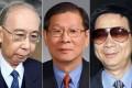 Rafael Hui, mainland official Liao Hui, and Hui's co-defendant Francis Kwan. Photos: Sam Tsang, Xinhua, Dickson Lee