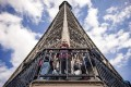 The Eiffel Tower in Paris attracts some seven million visitors a year, of whom 85 per cent are foreign tourists. Photo: AFP