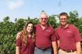 (From left): Sara Baronian, sales manager; Dave Pechan, owner; and Michael Webster, production manager