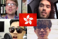 Youtubers Hank Green, Russell Brand, Peter Chao and Michael Lai all produced content based on Occupy Central. Photo: SCMP Pictures