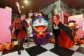 Halloween characters at the Doraemon attraction.