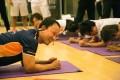 California Fitness's ambassador, the Tennis legend Michael Chang