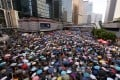 Pro-democracy protests have been blamed for suspension of talks on property deals. Photo: Sam Tsang