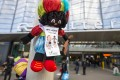 Black Pete hangs out in Rotterdam. Photo: EPA