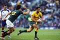 Wallaby veteran Adam Ashley-Cooper will be playing his 100th test on Saturday. Photo: AFP