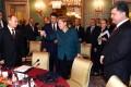 Angela Merkel led efforts to seek agreement between the Russian and Ukrainian leaders. Photo: AP