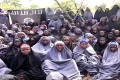 Some of the girls who were abducted by Boko Haram. Photo: AFP
