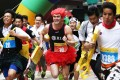 Runners hit the streets of Central dressed in all kinds of fancy dress. Photo: Jonathan Wong