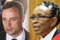 South African Judge Thokozile Masipa (right) was a crime reporter before she gained the media spotlight in the Oscar Pistorius (left) murder trial. Photos: AFP