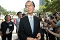 Antony Leung arrives for the think tank meeting. Photo: SCMP Pictures