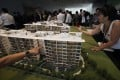 """The government says there is some distance to go for Singapore's home prices to achieve """"a meaningful correction"""". Photo: Reuters"""
