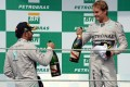 Will it be Lewis Hamilton or Nico Rosberg who wins the driver's championship? Either way, it makes for a thrilling finale. Photo: AFP