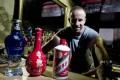 William Isler is educating foreigners about baijiu. Photo: Simon Song