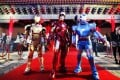 """Cinema in China is now big business, with Hollywood film studios increasingly keen to promote their films there, such as last year's """"Iron Man 3"""". Photo: Reuters"""