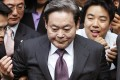 Samsung Group, led by Lee Kun-hee, is being reorganised to make it easier for his children to take over the empire. Photo: Reuters