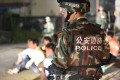 Shenzhen police conduct an anti-drug operation. Photo: SMP Pictures