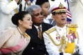 Crown Prince Vajiralongkorn with his wife, Princess Srirasmi, in this 2007 photo. Photo: AP