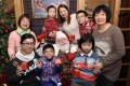 Children and members of the Paediatric Rheumatism Association with Santa Claus at Pacific Place. Photo: Edward Wong