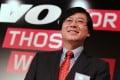 Yang Yuanqing, Chief Executive Officer of Lenovo. Photo: Nora Tam