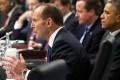 Australian Prime Minister Tony Abbott has defended his government's performance. Photo: AP