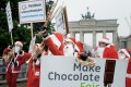 This Christmas we should avoid chocolate tainted with child labour. Photo: AFP