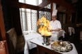 Sous chef Jeff Leung  flambées at the table. Photos: Nora Tam, SCMP