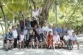 Participants in the Slow Life Symposium at the Soneva Fushi resort in the Maldives last month. Photos: Slow Life Foundation