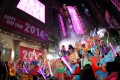 An enthusiastic crowd welcomed the new year in Times Square on January 1, 2014. Photo: Felix Wong