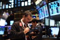The S&P 500 Index is up about 7 per cent, while MSCI's all-country world index excluding the US is down 9 per cent. Photo: AFP