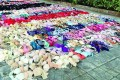 A man in Guangxi province stole a colourful array of more than 2,000 sets of women's lingerie from his neighbours over the course of a year. Photo: SCMP Pictures