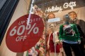 Disappointing post-Thanksgiving sales suggest consumers remain cautious. Photo: Bloomberg