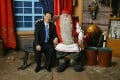 Xi Jinping, who made a three-day visit to Finland as vice-president in 2010, meets Santa Claus during a trip to Rovaniemi on the Arctic Circle. Photo: SCMP