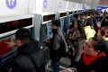 The leaks come as millions are starting to buy rail tickets to travel home for the Chinese Lunar New Year holiday in February. Photo: Xinhua