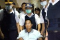 Former Taiwanese president Chen Shui-bian may be released from prison on medical parole as soon as on Wednesday, media reports say. Photo: EPA