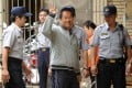 Former Taiwanese president Chen Shui-bian, pictured in 2011, has been serving a 20-year jail term for corruption since November 2010. Photo: AFP