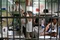 A jail cell inside Manila's notorious Bilibid prison. Photo: EPA