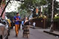 Foreigners walk on Sudder Street, a centrally located area popular among foreign backpackers, in Kolkata. Photo: AP