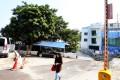 The barrier gate on Siu Hang Hau Road. Photo: Sam Tsang