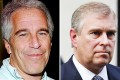 Jeffrey Epstein (left) was jailed for soliciting girls for prostitution. In a filing in a US court last month, Virginia Roberts alleged that she was made to engage sexually with Prince Andrew (right) at Epstein's Virgin Islands property. Photos: AP