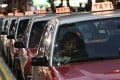The Hong Kong taxi industry wants 10 pc fare rise to cover inflation. Photo: SCMP