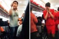 Chinese tourists behaving badly on a flight from Bangkok, who left a stewardess (right) in tears, were branded 'barbarians' by state media last month. Photo: SCMP Pictures
