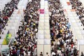 The mainland beat the target on job creation last year despite the slowest economic expansion in 24 years. Photo: Reuters