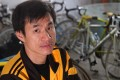 Hung Chung-yam, Hong Kong's top cyclist in the 1980s, is improving as a runner. Photo: Edmond So