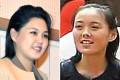 Ri Sol-ju (left) and Kim Yo-jong. Photos: EPA, SCMP Pictures