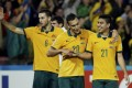 """Young Socceroo Massimo Luongo is """"running on adrenaline"""" during the Asian Cup Tournament in Sydney. Photo: Reuters"""